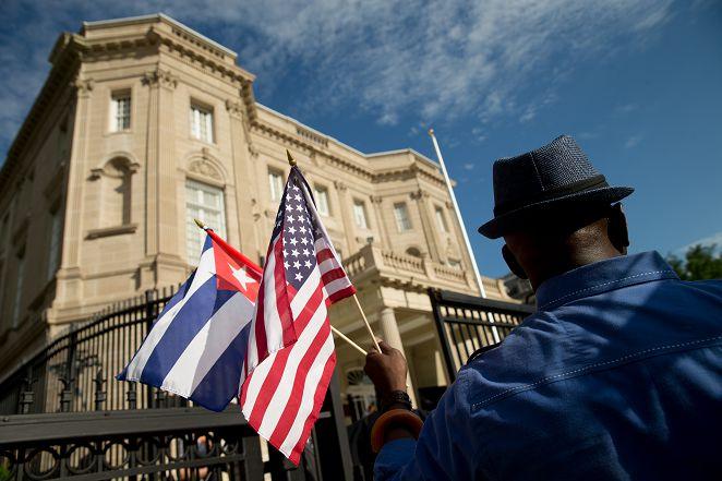 FOCUS新聞/美國古巴恢復邦交 半世紀後使館重開