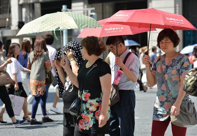 東京今年最高溫37.7度 連8天達「猛暑日」