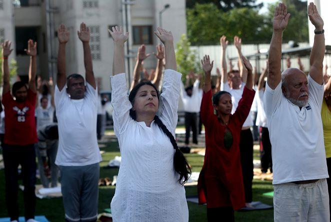FOCUS/瑜珈也有世錦賽 連辦11年目標奧運