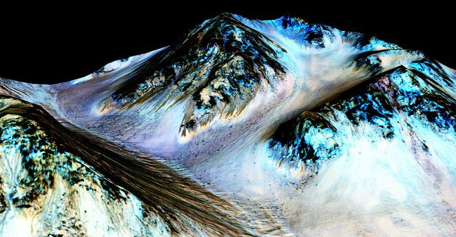 FOCUS/NASA:火星真的有水 高鹽份-80度不結冰