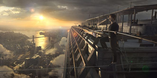 「走鋼索」挑戰新感官 首映會觀眾看到頭暈
