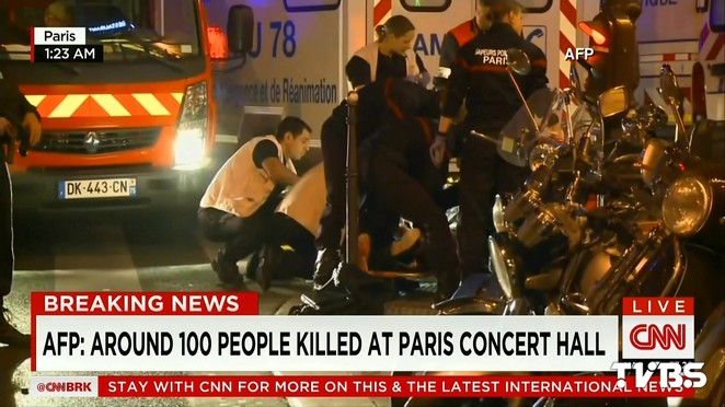 ISIS策動巴黎恐攻? 奧朗德:關閉邊界警戒