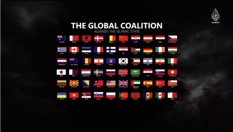 IS最新「抗戰」影片 出現中華民國國旗