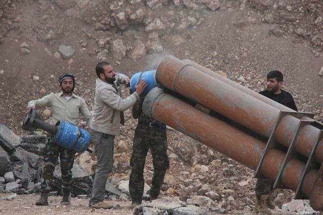 戰爭景象超震撼! 大馬士革空襲後如廢墟