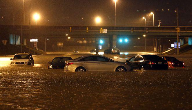 數十年最嚴重水災 英城鎮淪「小威尼斯」