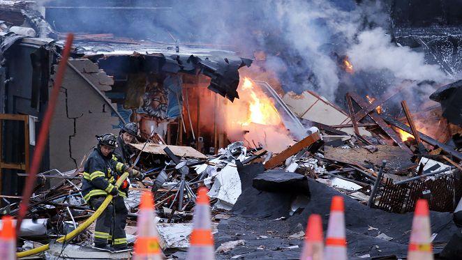 西雅圖天然氣爆炸 9名消防員受傷送醫