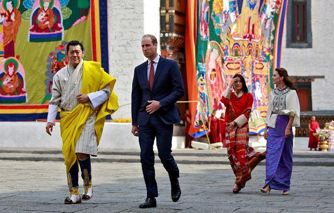 FOCUS/不丹VS英國皇室放閃 同年婚皆新手爸媽