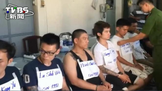 越南破獲跨國詐騙 6台灣人遭逮捕