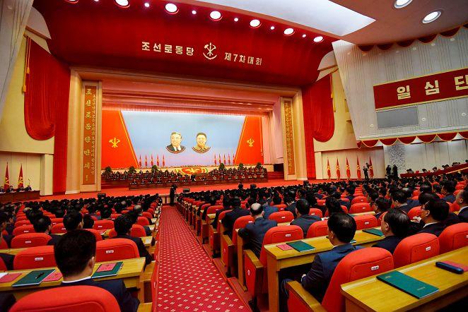 FOCUS/外媒首拍神秘黨大會 北韓新核心名單曝光