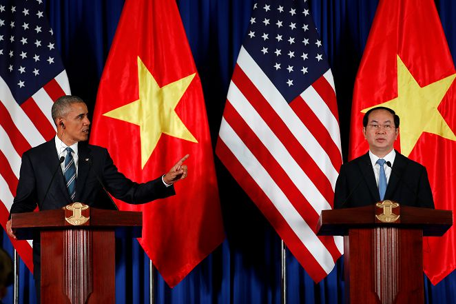解除越南50年武器禁運 美國意在「聯越抗中」