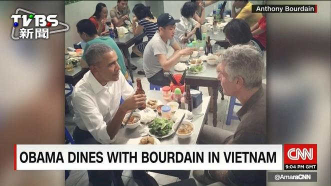 解除對越南武器禁運 歐巴馬巷弄嚐小吃