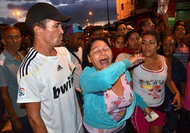 FOCUS/委內瑞拉大缺糧 民眾搶買食物險暴動